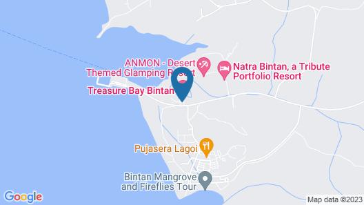 Natra Bintan, A Tribute Portfolio Resort Map