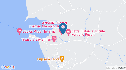 The ANMON Resort Bintan Map