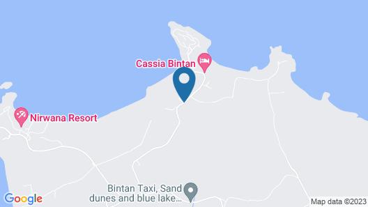 Mayang Sari Beach Resort Map