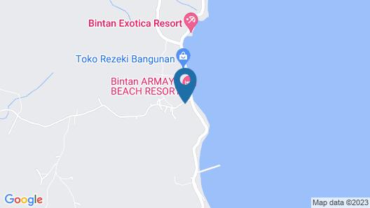 Bintan Cabana Beach Resort Map