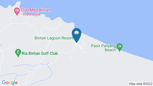 Bintan Lagoon Resort Map