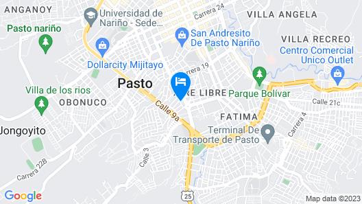 Hotel San Miguel Map