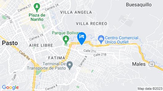Hotel Basan Plaza Map