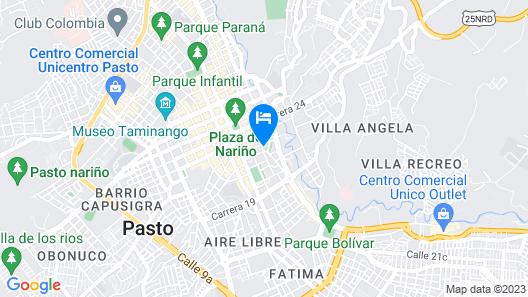 Hotel Fernando Plaza Map