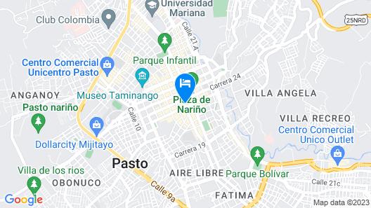Hotel Don Saul Map