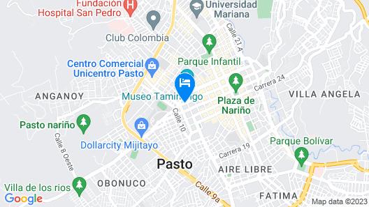 Hotel San Blass Boutique Map