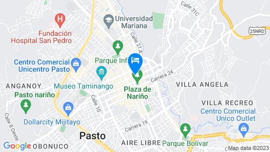 Hotel Galerias Map