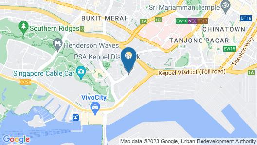 Harbour Ville Hotel Map
