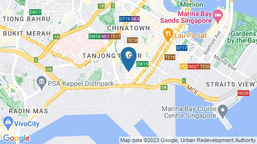 Amara Singapore (SG Clean) Map