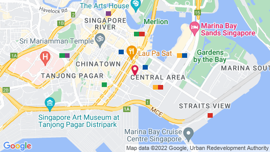The Westin Singapore (SG Clean) Map