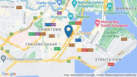 SO/ Singapore Map