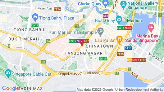 Dorsett Singapore (SG Clean) Map