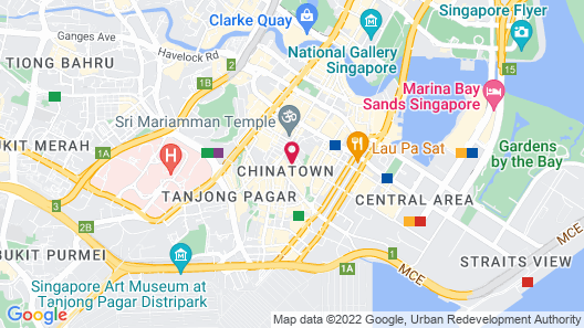 The Scarlet Hotel (SG Clean) Map
