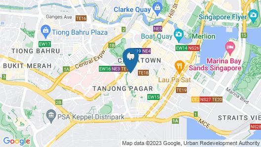 BUTTERNUTTREE HOTEL (SG Clean) Map