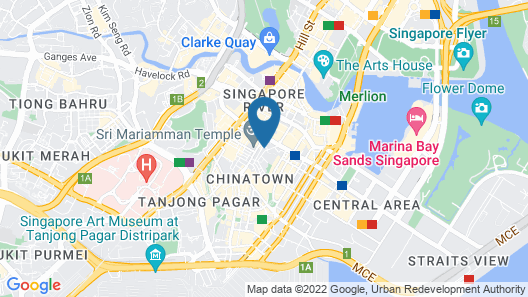 ClubHouse Residences Serviced Apartments Map