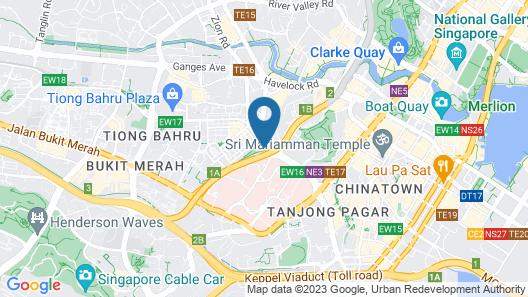 Hotel 81 Osaka (SG Clean) Map
