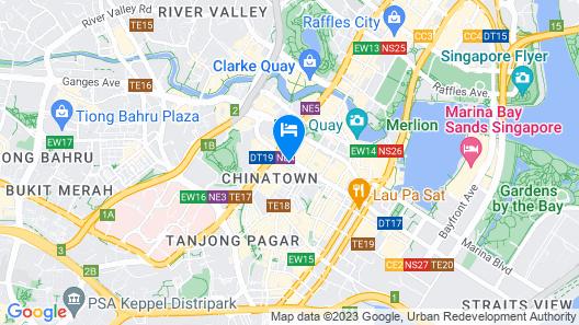 CAPSULE POD BOUTIQUE HOSTEL (SG Clean) Map