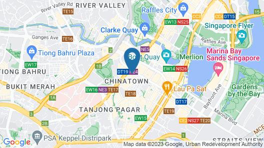 Porcelain Hotel (SG Clean) Map