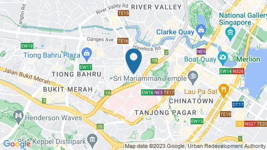 D' Hotel (SG Clean) Map