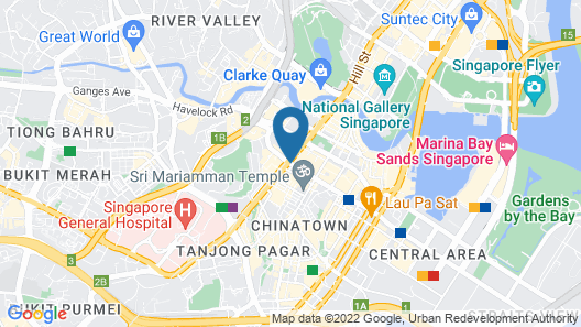 Hotel 81 Chinatown (SG Clean) Map