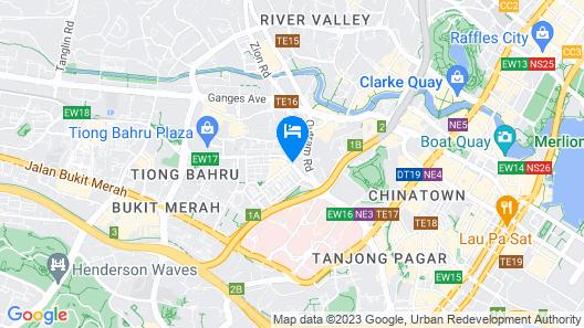 Nostalgia Hotel (SG Clean) Map