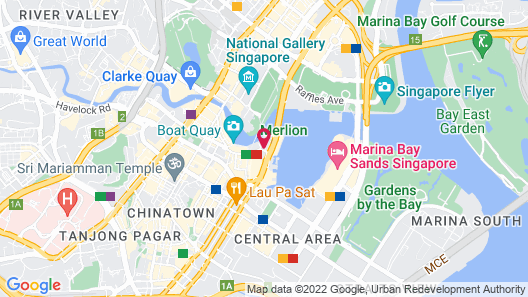 The Fullerton Bay Hotel (SG Clean) Map