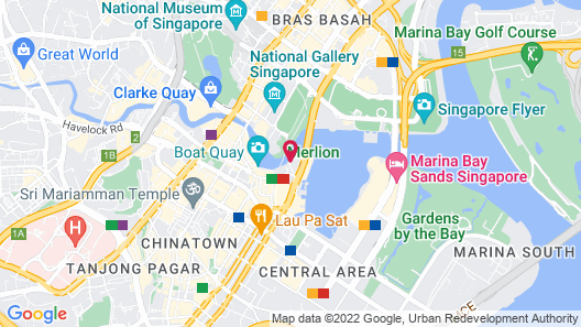 The Fullerton Hotel Singapore (SG Clean) Map