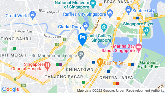 PARKROYAL COLLECTION Pickering, Singapore (SG Clean) Map