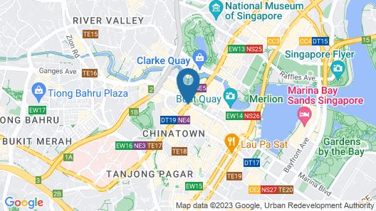 Furama City Centre (SG Clean) Map