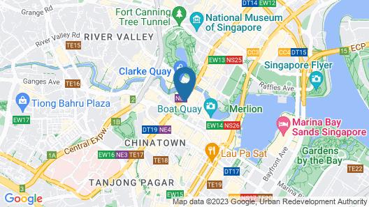ibis budget Singapore Clarke Quay (SG Clean) Map