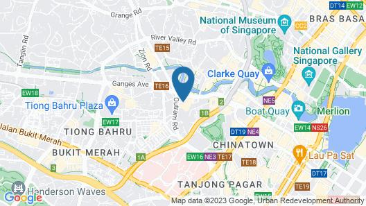 Furama RiverFront (SG Clean) Map