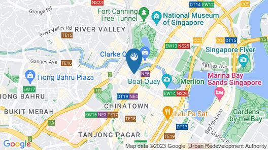 Park Regis (SG Clean) Map