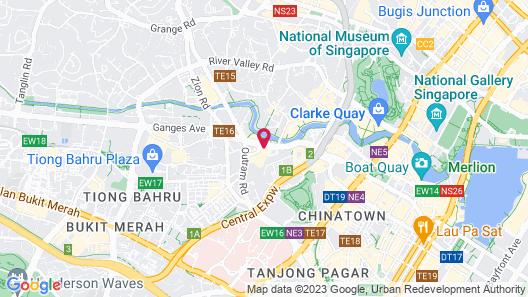 Copthorne Kings Singapore (SG Clean) Map