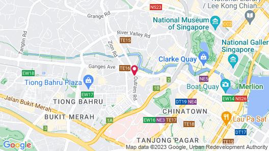 Holiday Inn Singapore Atrium (SG Clean) Map