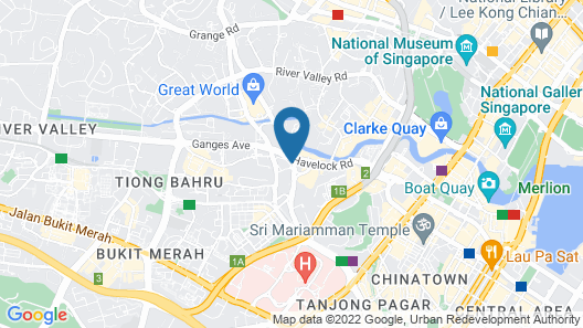Holiday Inn Singapore Atrium (SG Clean) Map