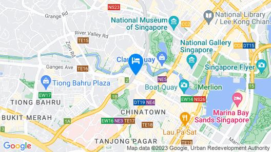 Holiday Inn Express Singapore Clarke Quay (SG Clean), an IHG Hotel Map