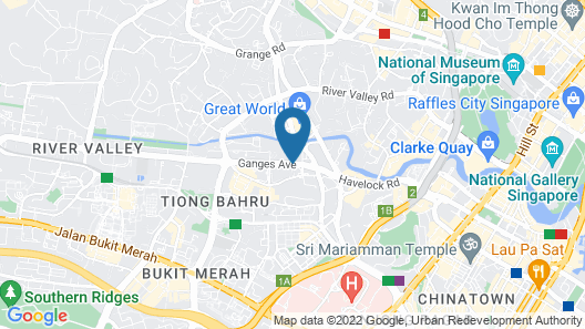 Louis Kienne Serviced Residences Map