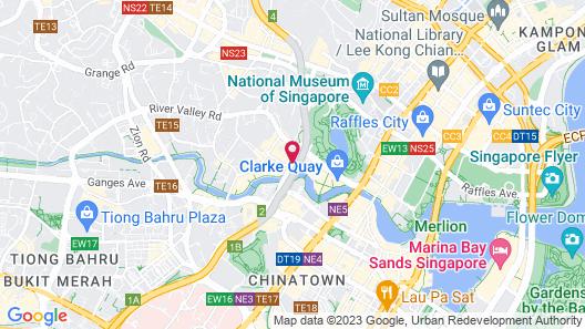 Park Avenue Clemenceau Map