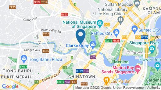 Park Avenue Clemenceau (SG Clean) Map