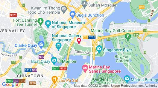 PARKROYAL COLLECTION Marina Bay, Singapore (SG Clean) Map