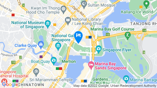 PARKROYAL COLLECTION Marina Bay, Singapore (SG Clean) Map