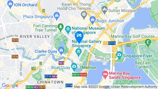 The Capitol Kempinski Hotel Singapore (SG Clean) Map
