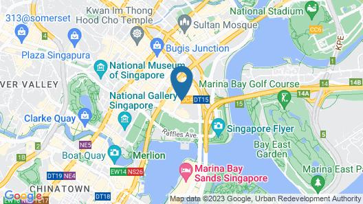 Conrad Centennial Singapore (SG Clean) Map