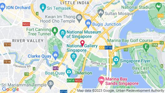 Fairmont Singapore (SG Clean) Map