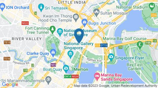 Fairmont Singapore Map
