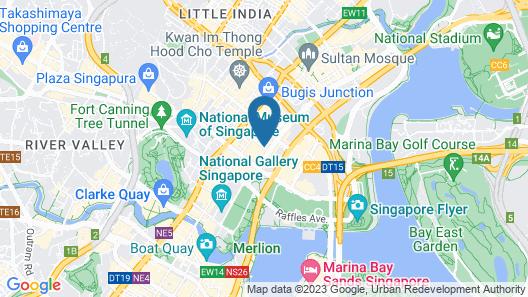 Naumi Hotel (SG Clean) Map