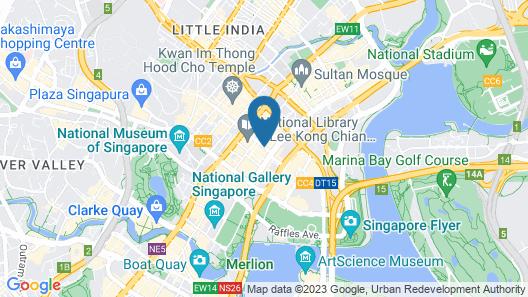 Hotel 81 Bugis (SG Clean) Map