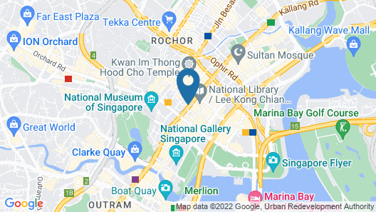 Hotel Grand Pacific (SG Clean) Map