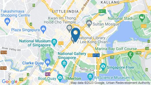 InterContinental Singapore Map