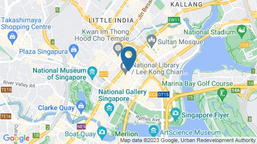 InterContinental Singapore  (SG Clean), an IHG Hotel Map